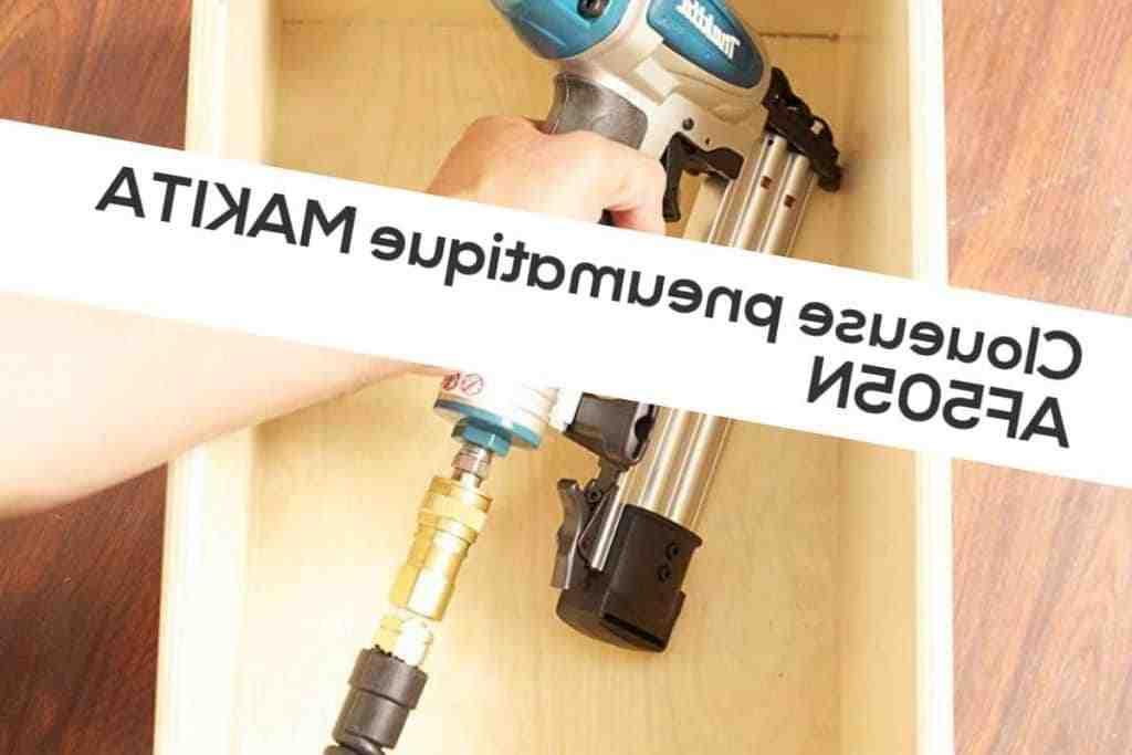 Comment utiliser une cloueuse pneumatique ?